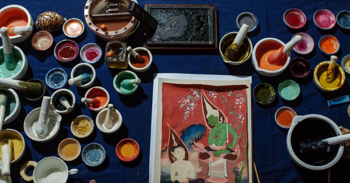 กระยารงค์ สีฝุ่นไทยโทนทำมือจากวัสดุธรรมชาติ