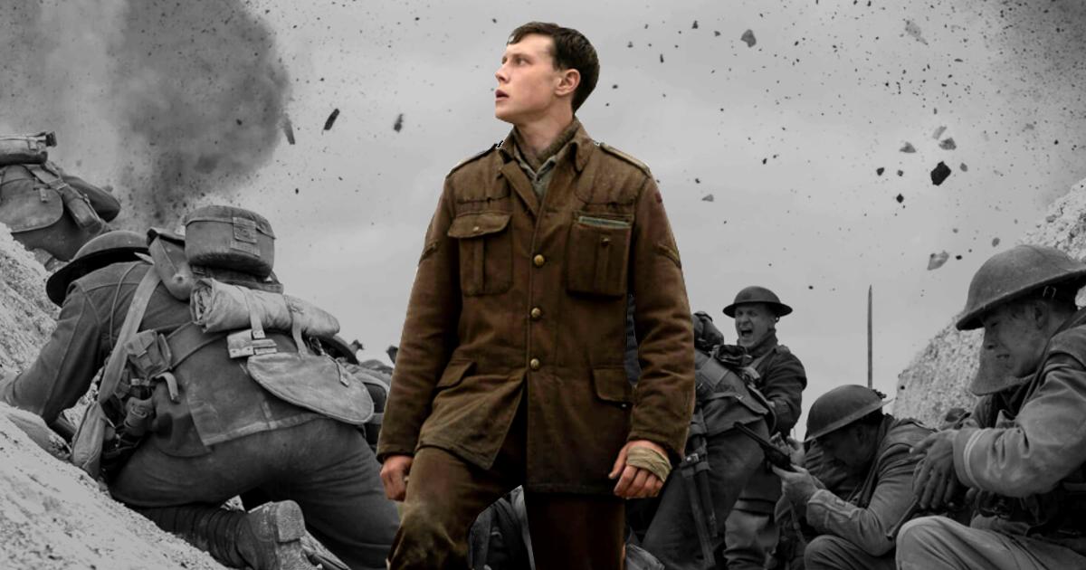 """1917 ชีวิตฉากเดียวในสมรภูมิรบที่ทหารถูกเล่าขานด้วยนาม """"มนุษย์"""" สามัญ"""