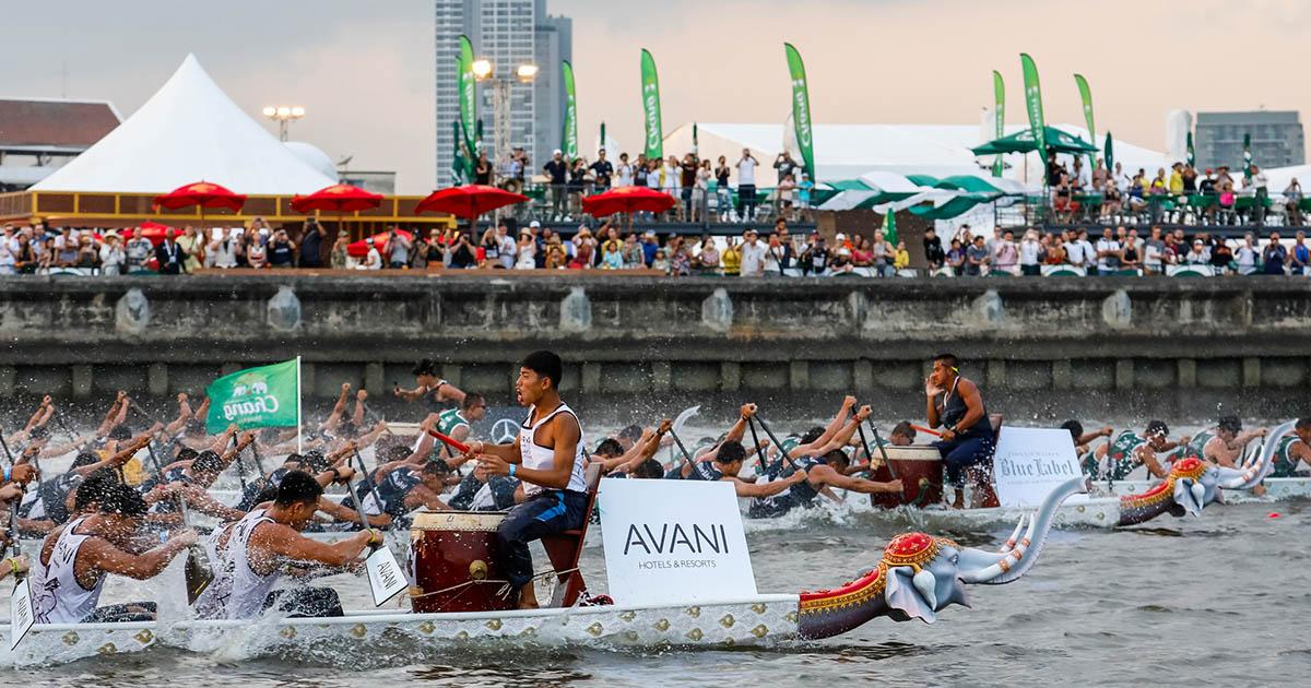 เหตุผลที่ไม่ควรพลาด การแข่งขันเรือยาวช้างไทยและเทศกาลริมน้ำ 2563
