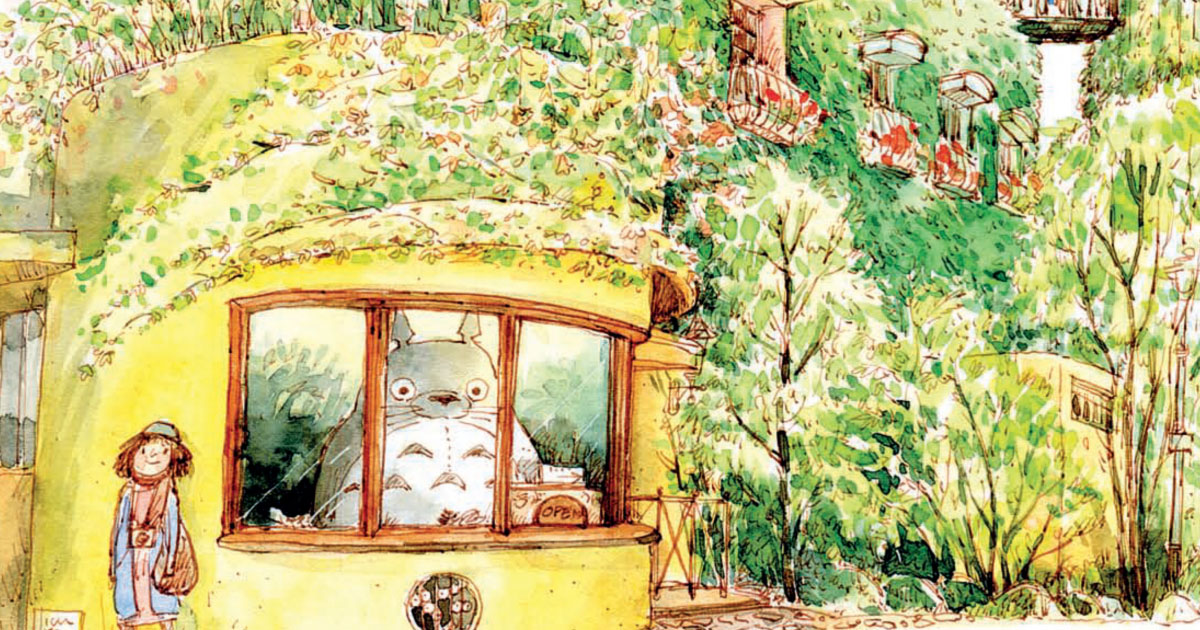 โทโทโร่ เทพผู้พิทักษ์ป่าและผู้เยียวยาหัวใจเด็กญี่ปุ่น