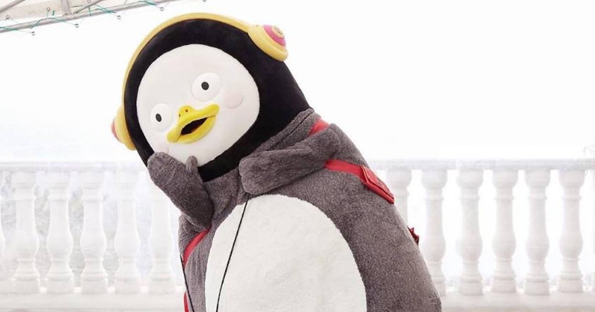 เพงซู (Pengsoo) เพนกวินผู้ชินชาต่อโลก มาสคอตที่จี้ใจดำคนรุ่นใหม่เกาหลี