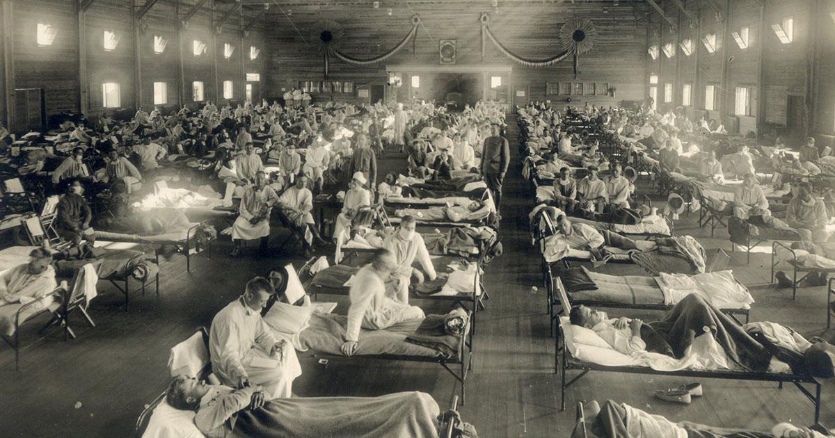 ถอดรหัส ไข้หวัดสเปน เหตุใดกองทัพและสงครามจึงเร่งการระบาดของไวรัส