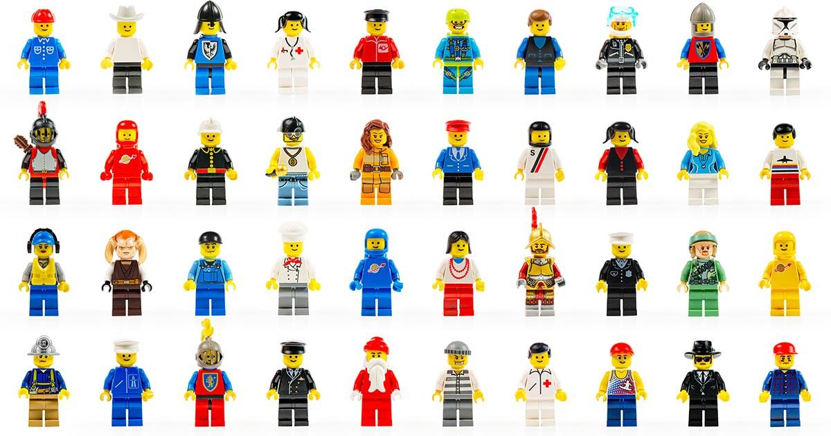 เลโก้ ตัวต่อจิ๋วที่สร้างสรรค์ได้มากกว่า 950 ล้านแบบไม่ซ้ำกัน