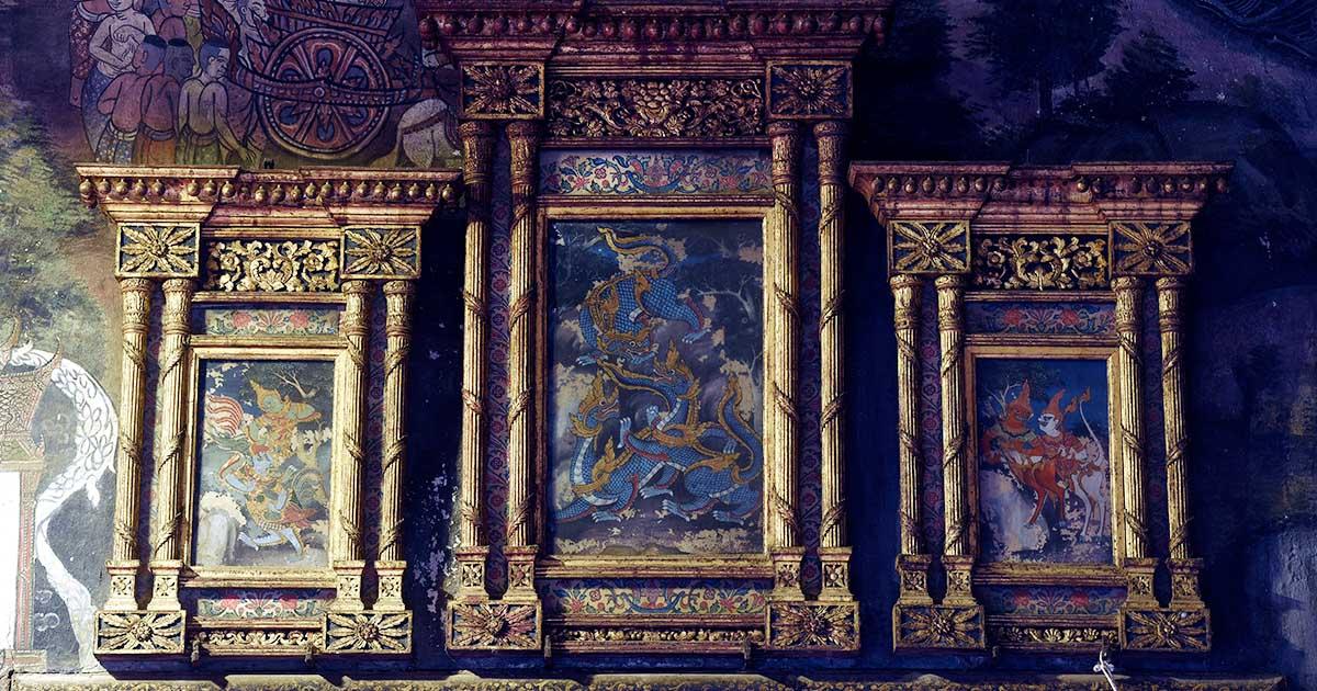 วัดสุทัศน์ ครั้งแรกกับการซ่อมภาพสัตว์หิมพานต์อายุกว่า 200 ปีที่โลกลืม