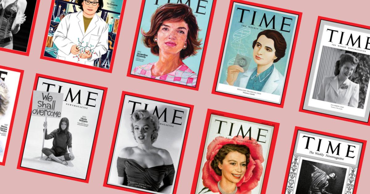 จาก Man of the Year ถึง ผู้หญิงที่ทรงอิทธิพลที่สุดในโลก ประจำศตวรรษ ฉบับนิตยสารไทม์