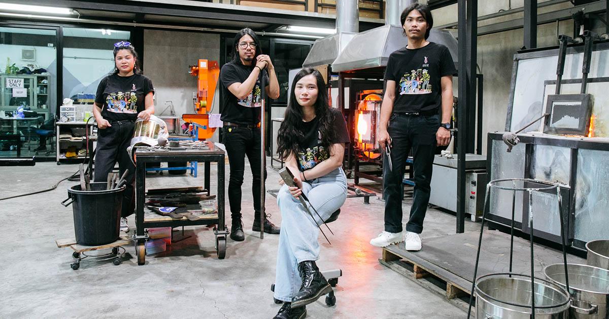 BGC Glass Studio สตูดิโอศิลปะเป่าแก้วแห่งแรกในไทย ที่มีศิลปินรุ่นใหม่อยู่เบื้องหลัง