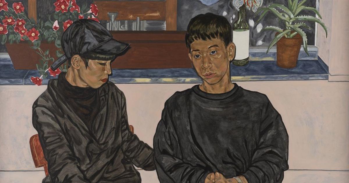 ข้างหลังภาพ Night Talk โดย เจี๊ยบ ประชากุล ศิลปินเอเชียคนแรกรางวัล BP Portrait Award