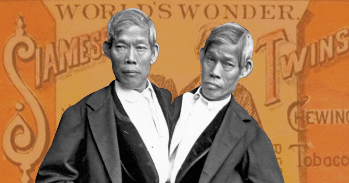 อิน-จัน บังเกอร์ แฝดสยาม ผู้บุกเบิกสายสัมพันธ์ไทย-อเมริกา