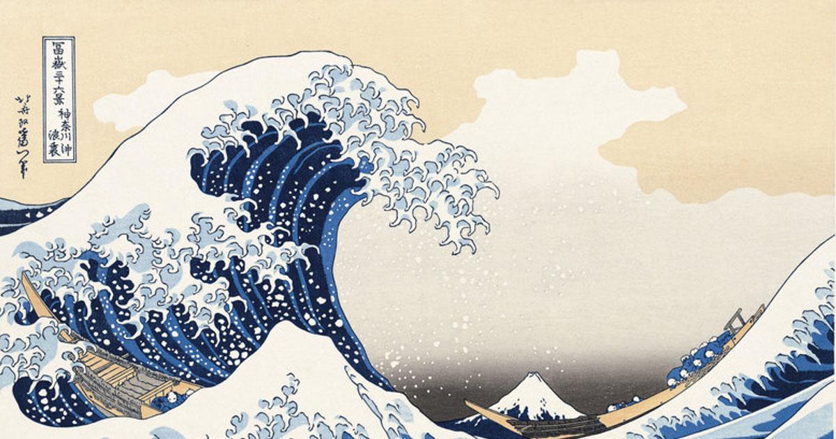 เบื้องหลังภาพ The Great Wave วิวภูเขาฟูจิกับคลื่นยักษ์ และ ชีวิตของ Hokusai