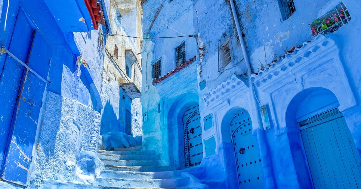 เชฟชาอูน : เมืองโบราณสีฟ้า ต้นแบบความกรีนแห่ง โมร็อกโก