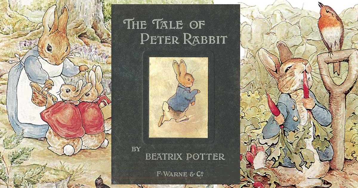 ธรรมชาติและโลกนิทาน ของ เบียทริกซ์ พอตเตอร์ The Tale of Peter Rabbit