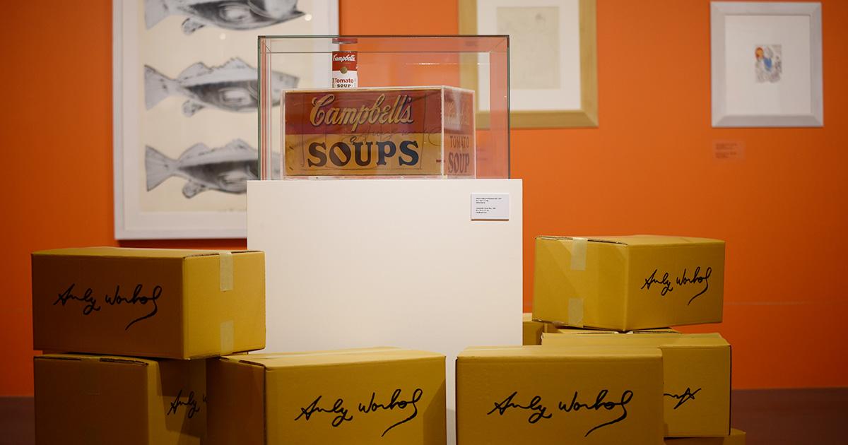 Andy Warhol : Pop Art นิทรรศการรวมความพอปอาร์ตสุดจี๊ดของ แอนดี้ วอร์ฮอล
