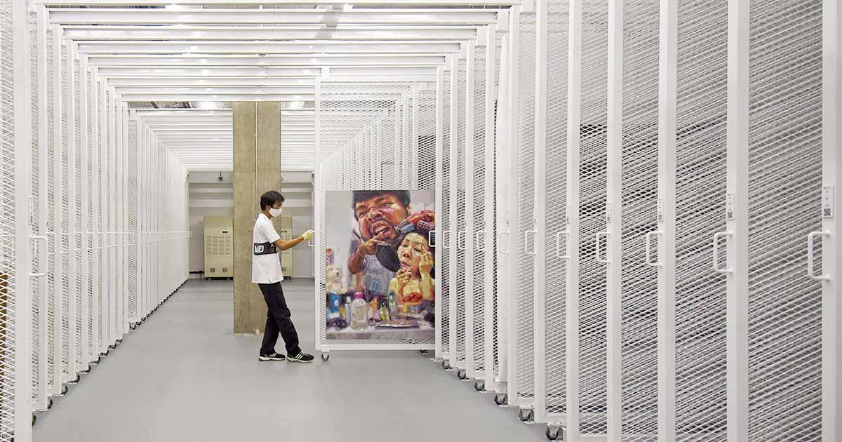 JWD Art Space มากกว่าแกลเลอรีคือมือวางด้านซ่อม ขนส่ง ติดตั้ง และจัดเก็บงานศิลปะ