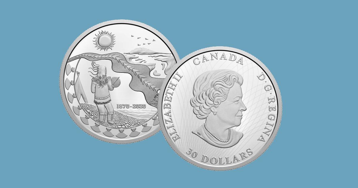 โรงกษาปณ์แคนาดา ออกเหรียญฉลอง 150 ปีดินแดน Northwest Territories