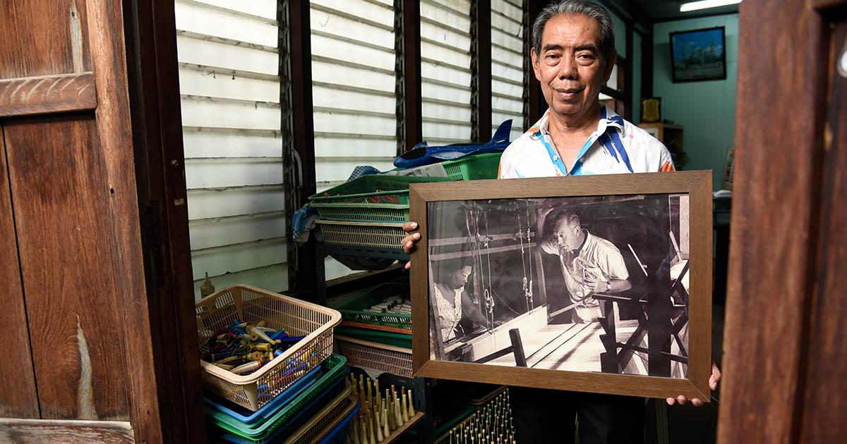 รอยไหมแห่งอาณาจักรจามปา ที่ซ่อนอยู่ใจกลางสยาม ณ บ้านครัว