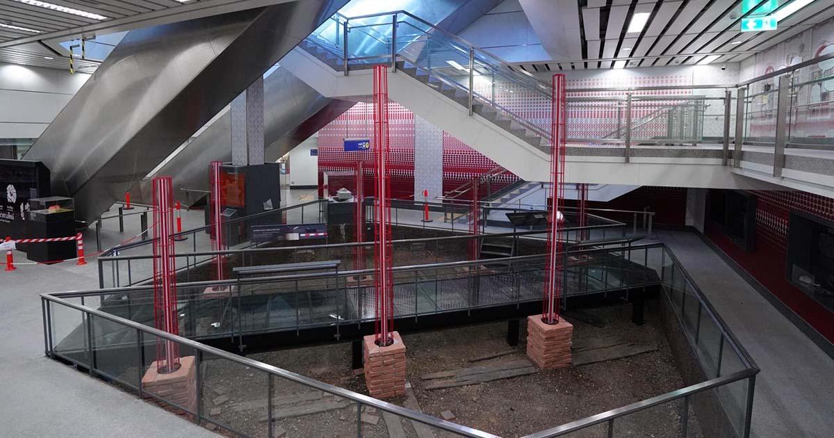 เตรียมตัวให้พร้อม พิพิธภัณฑ์ใต้ดิน แห่งแรกของไทย คืบหน้ากว่า 95%