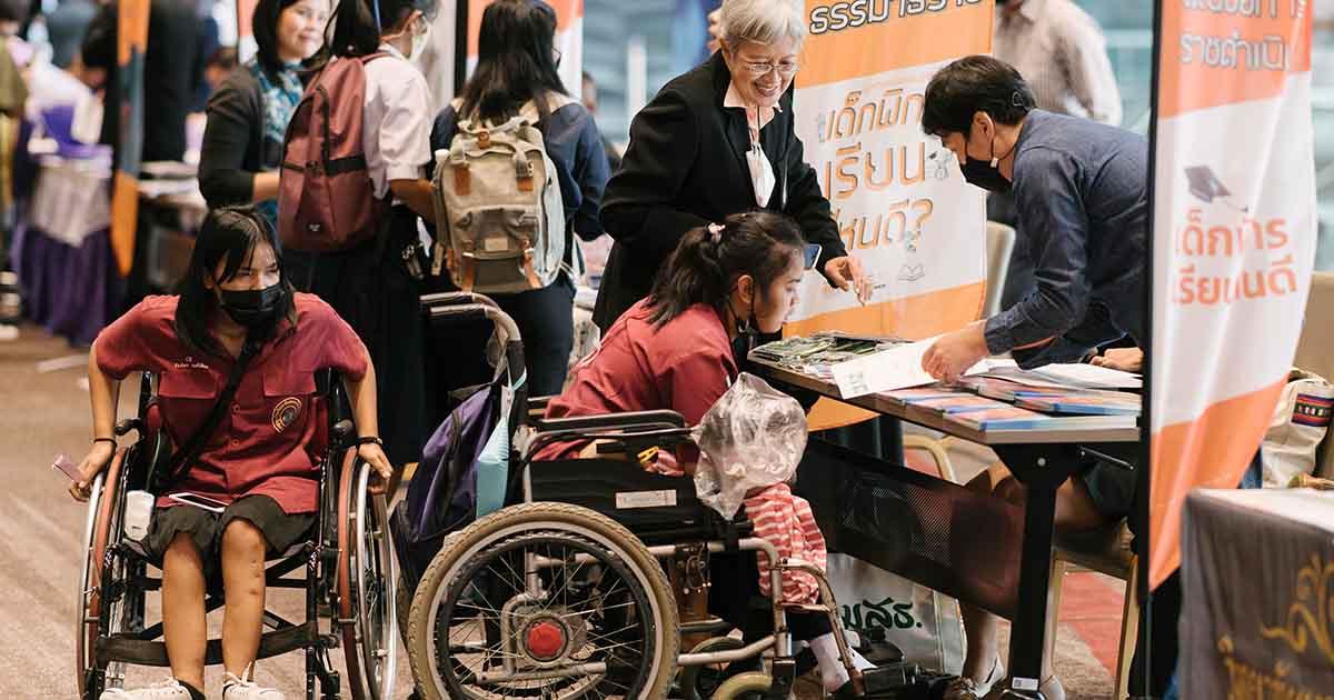 """ถ้าการเมืองดี เราคงไม่ต้องตั้งคำถามว่า """"เด็กพิการเรียนไหนดี"""""""
