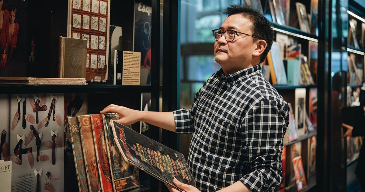 """เบื้องหลัง Retail Library ใน Central: The Original Store คือนักจัดการร้านหนังสือ """"เชน สุวิกะปกรณ์กุล"""""""