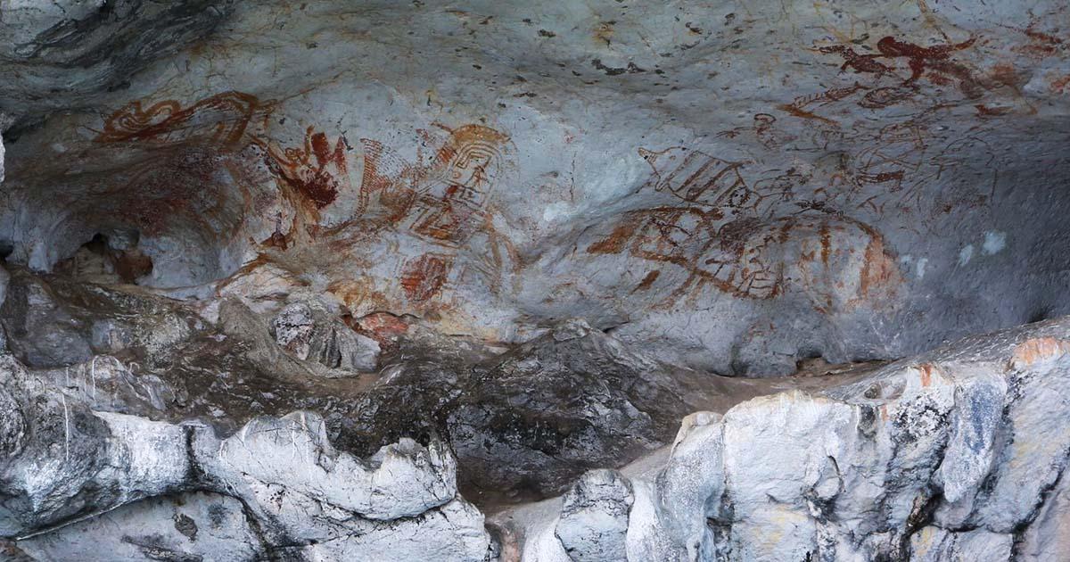 สำรวจ ภาพเขียนสีก่อนประวัติศาสตร์ แหล่งใหม่ อุทยานแห่งชาติอ่าวพังงา