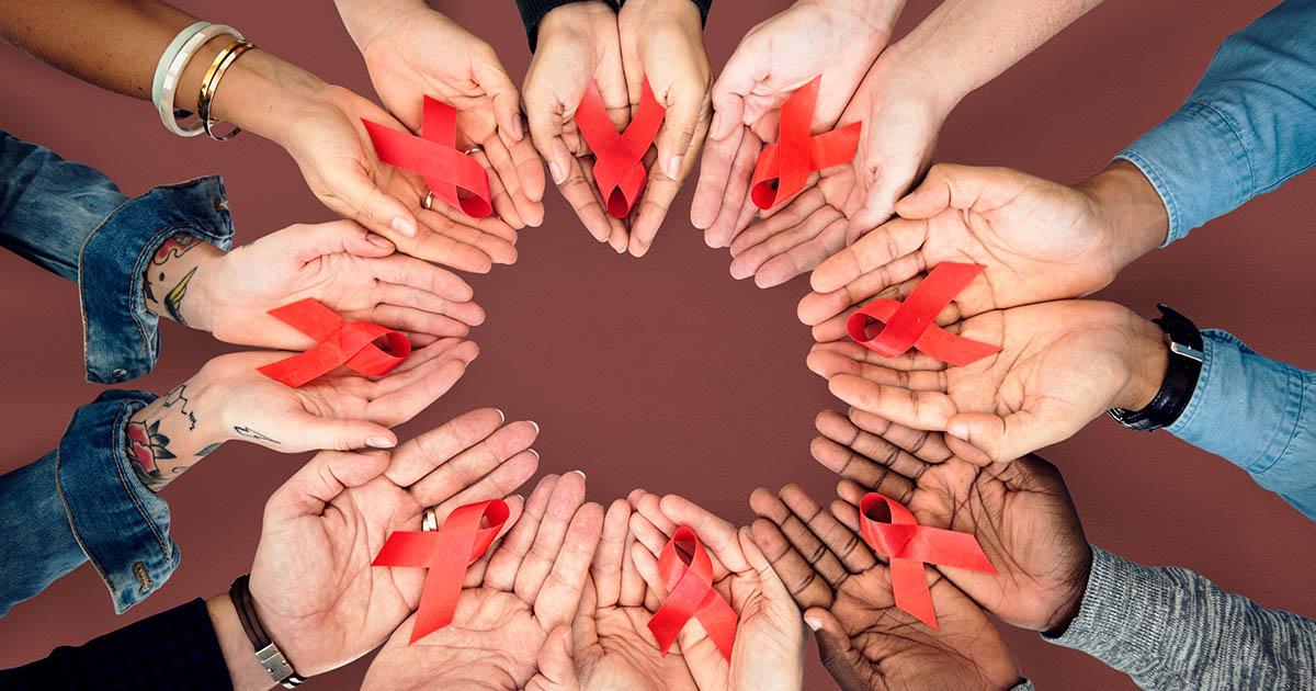 1 ธันวาคม วันเอดส์โลก เอดส์อยู่ร่วมกันได้ ไม่ตีตรา