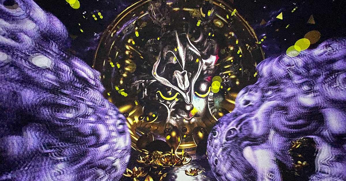 เมื่อสิงสาราสัตว์ในภาพวาด ถวัลย์ ดัชนี โลดแล่นในโลกดิจิทัล Immersive Art of Thawan Duchanee