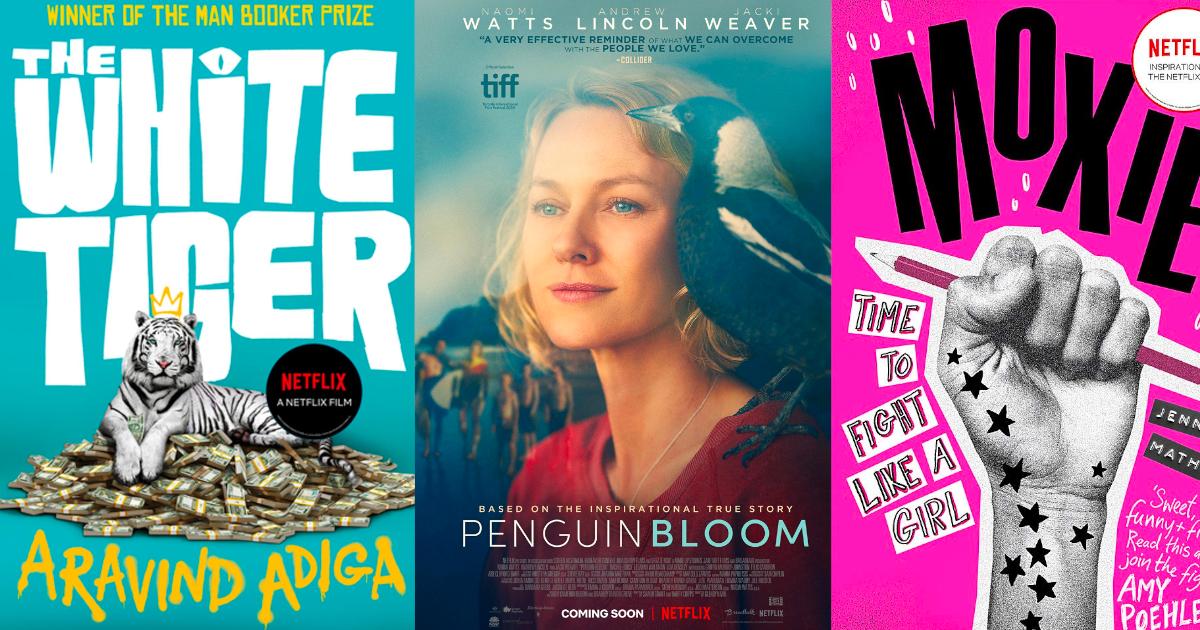10 ภาพยนตร์ Netflix ปี 2021 ที่สร้างจากหนังสือและวรรณกรรม