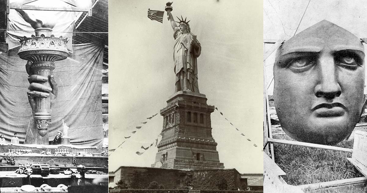 การเดินทางของ เทพีเสรีภาพ ของขวัญแด่ประชาธิปไตย จากฝรั่งเศสสู่อเมริกา