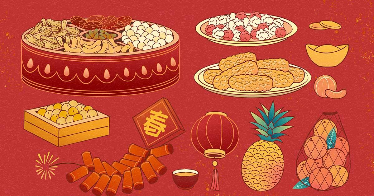 ประวัติศาสตร์ ตรุษจีน กินขนมอะไรแล้วเสริมมงคลรับวันปีใหม่จีน