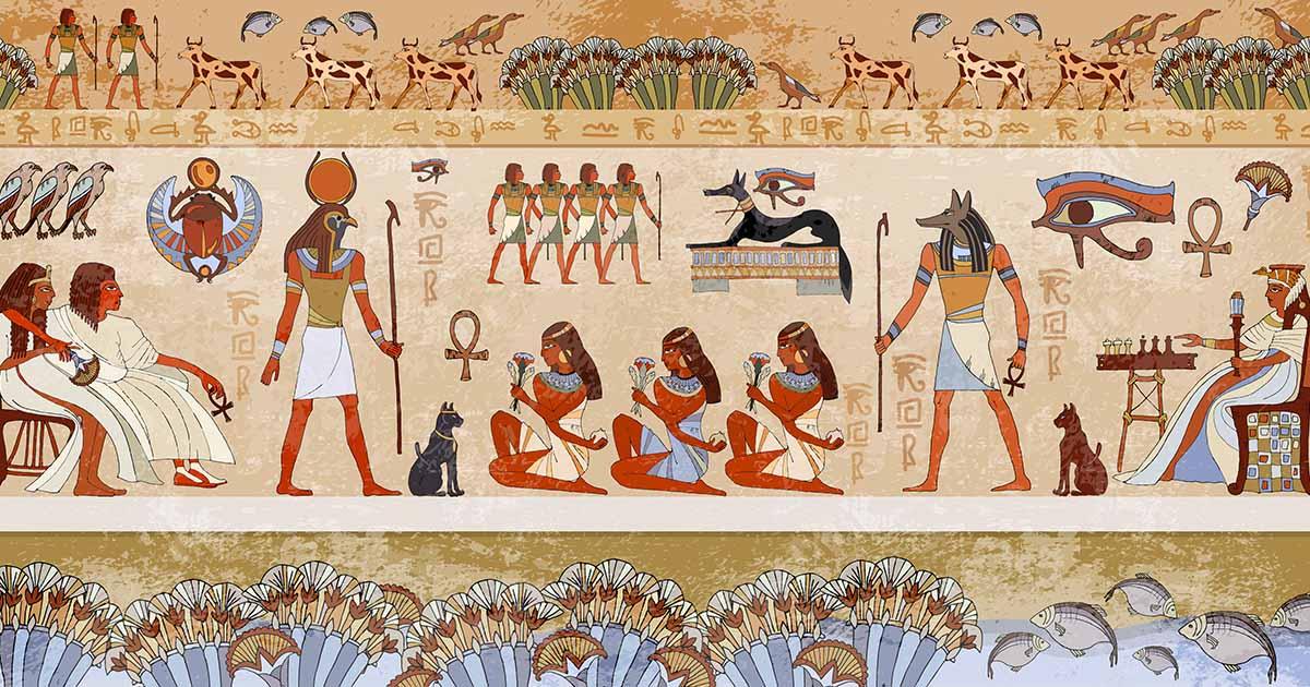 ไขปริศนาไอยคุปต์ กับ 7 เทพเจ้าอียิปต์โบราณ