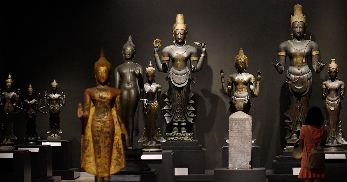 อาคารประพาสพิพิธภัณฑ์ โฉมใหม่ อลังการงานโบราณคดีหลังพุทธศตวรรษที่ 18 กว่า 900 ชิ้น