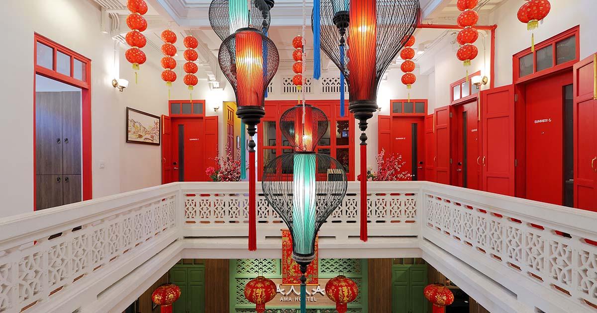 เปลี่ยนบ้านจีนโบราณอายุ 200 ปี ให้เป็น AMA Hostel
