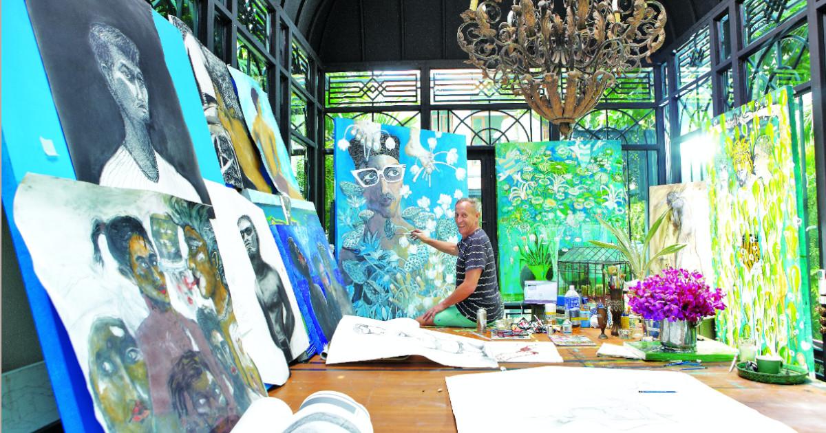ศิลปะกับคนนอก นิทรรศการเดี่ยวครั้งแรกของ บิล เบนสเลย์ สถาปนิกผู้ออกแบบโรงแรมกว่า 200 แห่งทั่วโลก