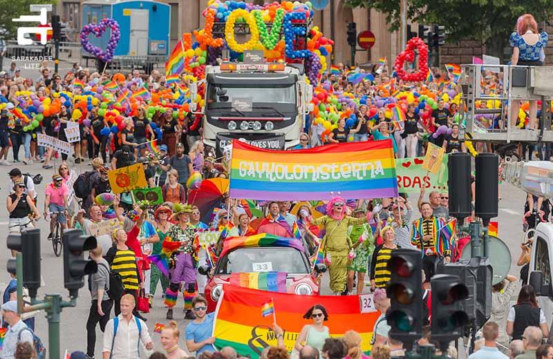 Rainbow LGBT Pride flag