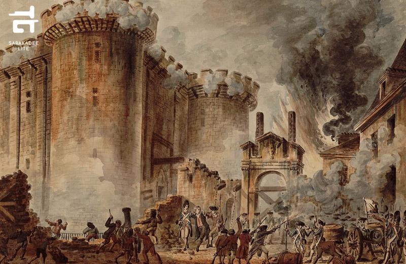 เบื้องหลังปฏิวัติฝรั่งเศส