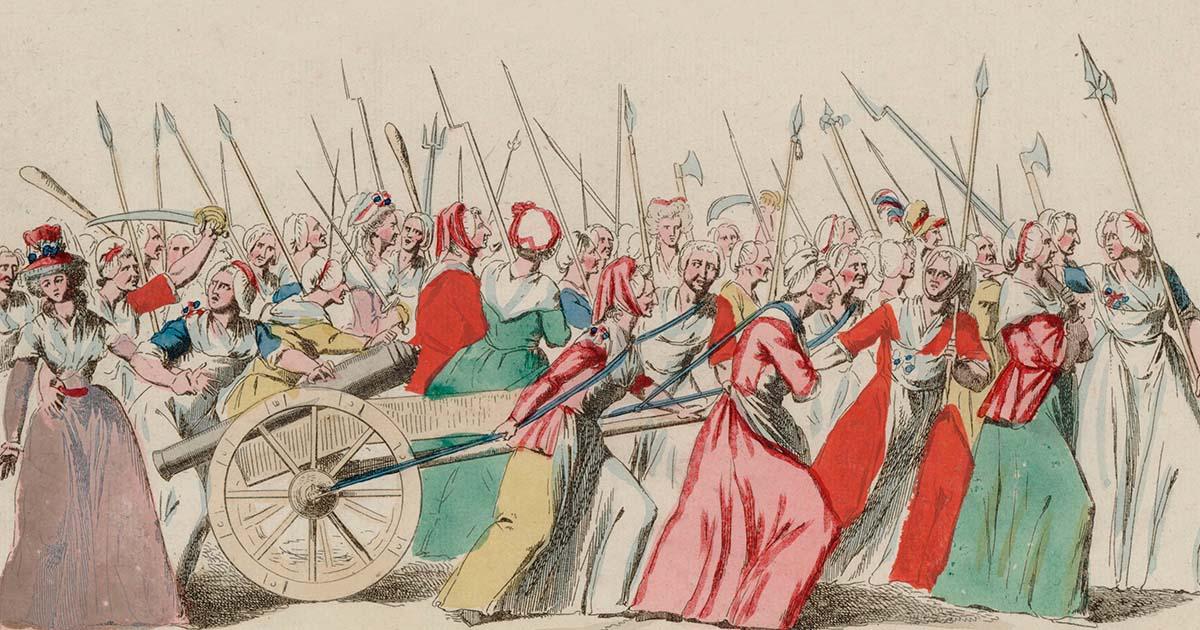 การขึ้นภาษีขนมปัง และ พลังสตรีสามัญ เบื้องหลังปฏิวัติฝรั่งเศส