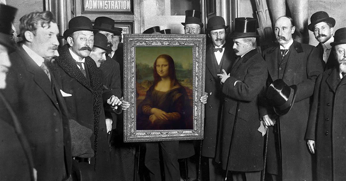 โมนาลิซา อาจไม่ได้เป็นมาสเตอร์พีซของ ดาวินชี หากไม่มีเหตุโจรกรรมปี 1911