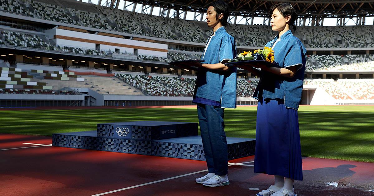 """ถอดนิยาม """"ความเป็นทางการ"""" ฉบับญี่ปุ่น จาก ยูนิฟอร์มเชิญรางวัล โอลิมปิก 2020"""