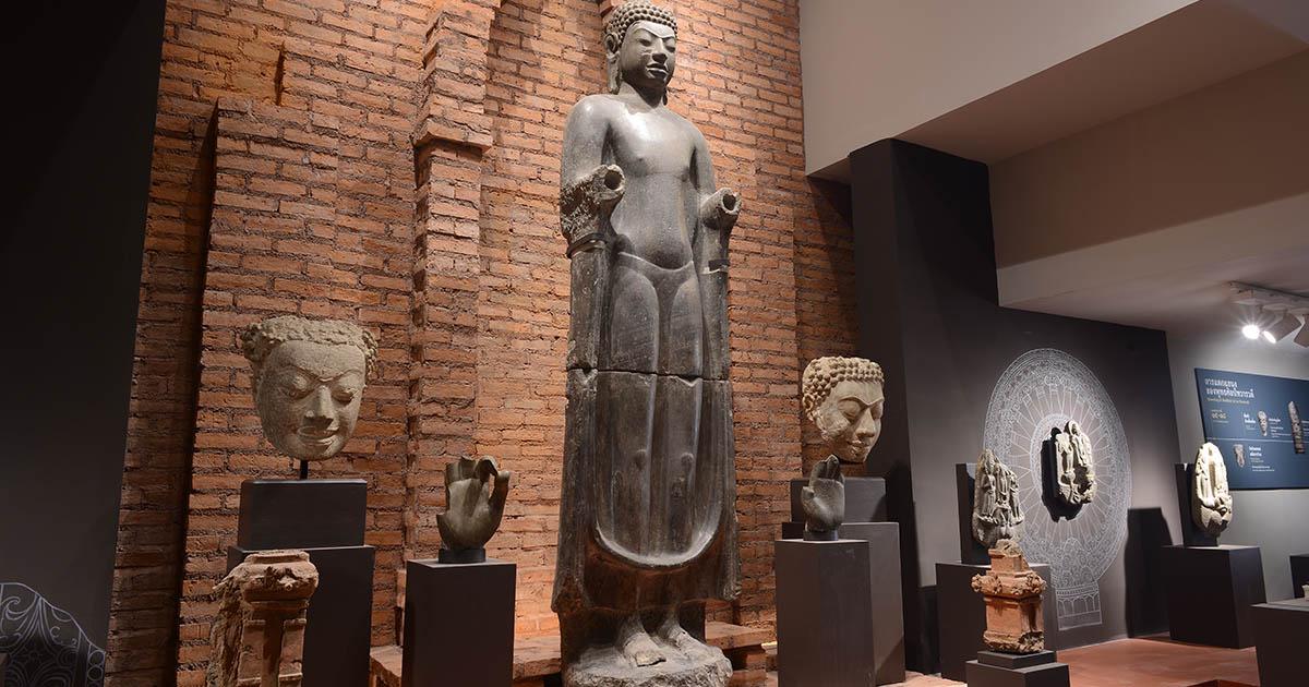 โฉมใหม่ พิพิธภัณฑสถานแห่งชาติ พระปฐมเจดีย์ จัดแสดงโบราณวัตถุทวารวดีกว่า 260 รายการ
