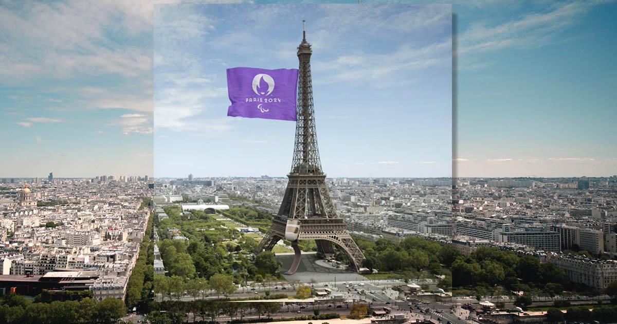 หอไอเฟลใส่ขาเทียม ย้อมปารีสด้วยสีม่วง จากโตเกียวสู่ พาราลิมปิกเกมส์ ปารีส 2024