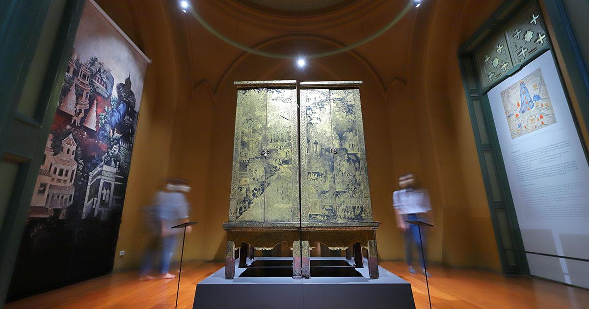 ที่สุด ตู้ลายทอง จากสกุลช่างครูวัดเชิงหวายกรุงศรีอยุธยา สู่รัตนโกสินทร์